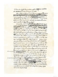 Draft of the Declaration of Independence in Jefferson's Handwriting  Page 1