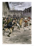 Capture of Fort Ticonderoga by Ethan Allen and the Green Mountain Boys  c1775
