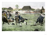 The Fight on Lexington Green  April 19  1775  Beginning the Revolutionary War