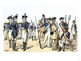 Continental Army Uniforms