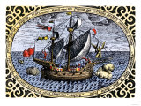 Victoria  One of Magellan's Fleet Which Circumnavigated the Earth  c1519-1520