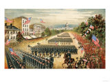 Grand Review of Armies at End of Civil War  Pennsylvania Avenue  Washington DC  c1865