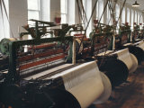 Power Looms Inside the Boott Cotton Mills  Lowell National Historical Park  Massachusetts