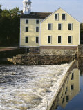 Slater's Mill  First US Textile Factory  Pawtucket  Rhode Island