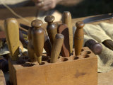 Cobbler's Tools at a Reenactment at Yorktown Battlefield  Virginia