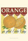 Orange ya glad