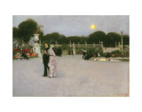 In the Luxembourg Gardens  c1879