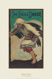 Eagle Dancer Reproduction d'art par Gerald Cassidy