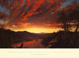 Twilight in the Wilderness  c1860