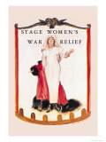 Stage Women&#39;s War Relief