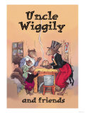 Uncle Wiggily and Friends: Pudding