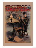 William Gillette as Sherlock Holmes
