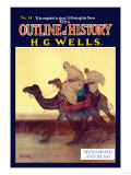 Outline of History by HG Wells  No 14: Muhammad and Islam