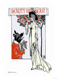 Beauty and the Beast  c1900