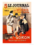 Le Journal: Les Mysteres de la Tour Pointue  c1899