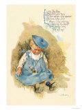 Little Boy Blue Reproduction d'art par Maud Humphrey