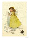 Little Miss Muffett Reproduction d'art par Maud Humphrey