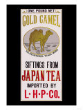 Gold Camel Brand Tea