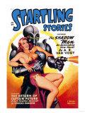 Startling Stories: Robot Seizes Woman