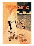 Ambassadeurs: Yvette Guilbert  Tous les Soirs  c1894