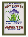 May Flower Brand Tea