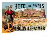 Hotel de Paris: Trouville-sur-Mer  c1885