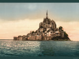 Mont St Michel at High Tide