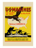 US Marines Defend America
