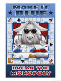 Make It Blue  Break the Monopoly
