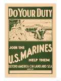 Do your Duty  Join the US Marines