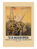 US Marines  First to Fight for Democracy