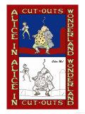 Alice in Wonderland: Father William Balances an Eel