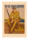 US Marine  Be a Sea Soldier