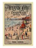 Atlantic City Board Walk Promenade March