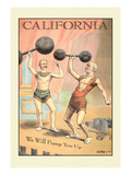 California - We Will Pump You Up