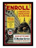 Enroll: American Merchant Marine  c1941