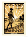National Service Women&#39;s Land Army