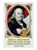 Beer Is Living Proof…