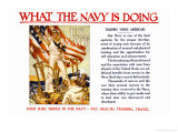 What the Navy is Doing  c1918