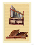Portable Organ and Bible Regal