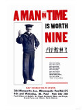 A Man in Time is Worth Nine  US Navy  c1917