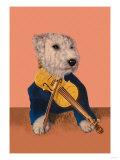 Dog with Violin