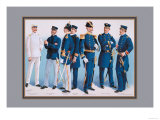 US Navy: Uniforms  1899
