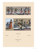 Italy  Venetian Gondoliers  Pages  Dwarves and Court Jesters