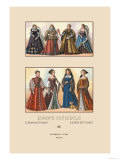 European Noblewomen of the Sixteenth Century