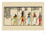 Horus  Ras  Isis and Ra-Ta