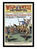 Wild West Weekly: Young Wild West's Bareback Beat