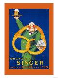 Bretzels Singer  Avec la Biere et la Vin