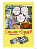 Ballantine's Beer  Moving in the Best Circles
