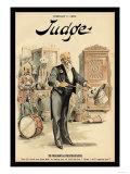 Judge Magazine: The Presidential Prestidigitateur